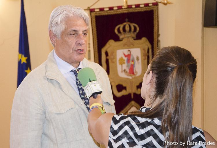 Francisco Sauco, presidente del jurado y de la Academia Extremeña de Gastronomía