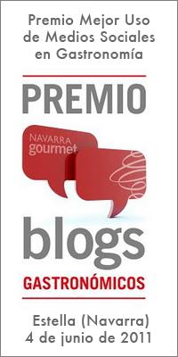 Premio Navarra Gourmet 2011