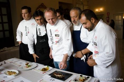 """Jurado del concurso de tapas """"Córdoba Califato Gourmet"""""""