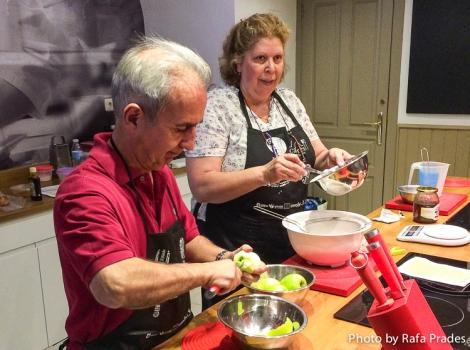 Taller de inmersión a la repostería sefardí en el Cayena Kitchen Club