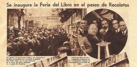 Inauguración Feria del Libro de Madrid