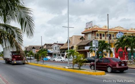 Avenida de Tulum, calle principal