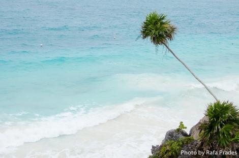 Mar Caribe en Tulum