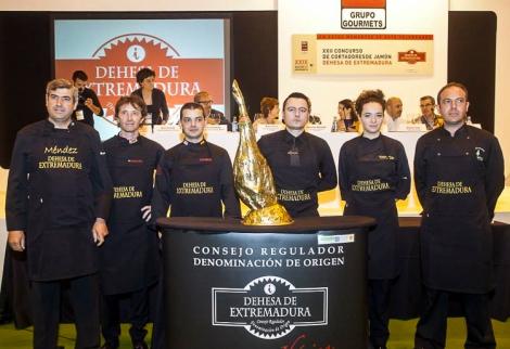 Concurso Nacional de Cortadores de Jamón Dehesa de Extremadura 2015