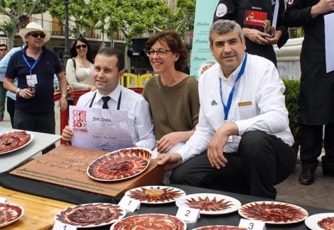 I Concurso de Cortadores Profesionales de Jamón de Alcalá de Henares