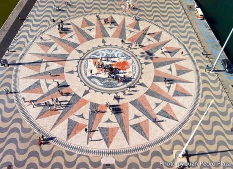 Rosa de los Vientos - Monumento a los Descubrimientos - Lisboa