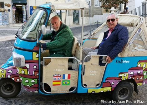Paseo en tuk-tuk por Lisboa