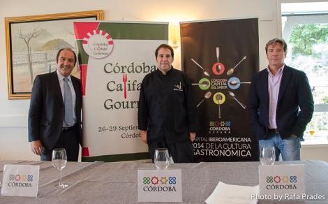 Presentación de Córdoba Califato Gourmet en el Mirador de Ulía