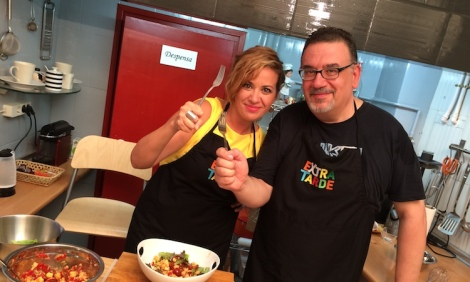 Con la reportera Fátima Ramírez