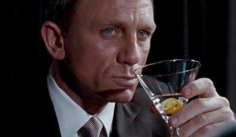 Daniel Craig en el papel de James Bond