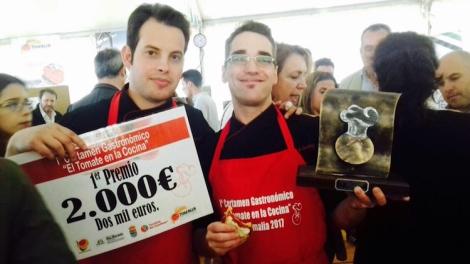 Francisco Naranjo y Miguel Ángel Sánchez del Restaurante Eustaquio Blanco
