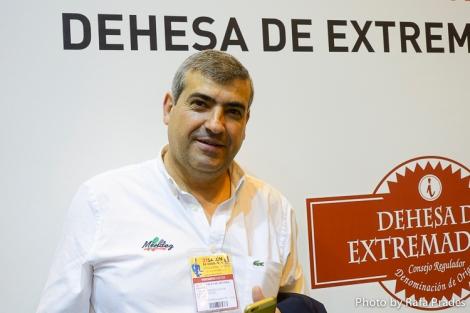 Vicente Méndez, embajador de la despensa extremeña