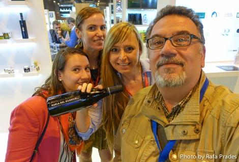 Con Jana, Alejandra e Isabel de Aires News Comunicación