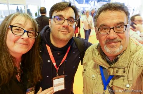 Con Marta y Alfonso, dos grandes amigos