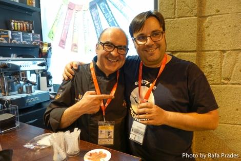 El barista Óscar de Toro y Alfonso