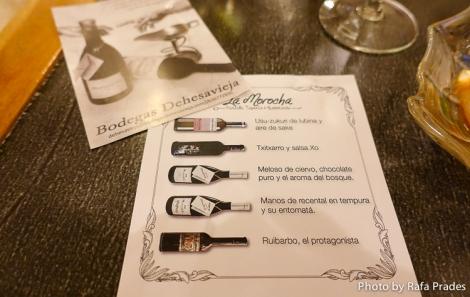 Cata de vinos de Bodegas Dehesavieja en La Morocha