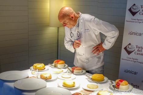 Toño Pérez, chef del restaurante Atrio de Cáceres