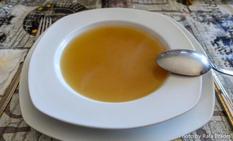 Primer vuelco: la sopa de arroz