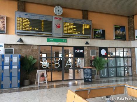 Cambios a mejor en la Estación de Autobuses de Cáceres